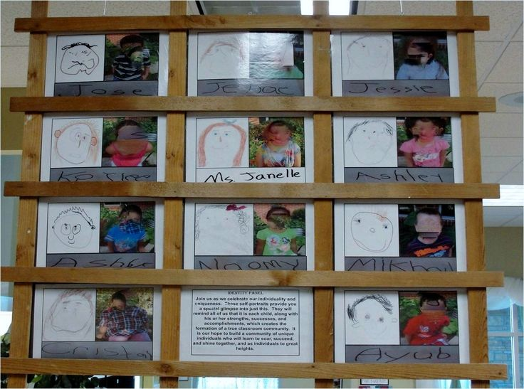 """Image of the child - Identity Boards ("""",)"""