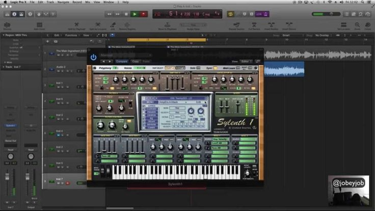 EP.9 Logic Pro x Tutorial - Step by step Trap, hiphop, Sampling producti...