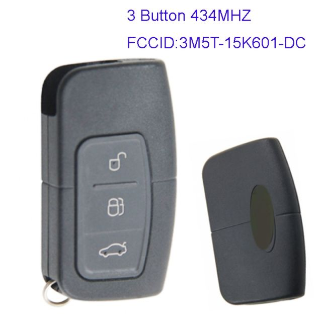 Mk160068 Original 3 Buttons 434hz Smart Key For Ford Focus St Rs 3m5t 15k601 Dc Control Key Fob Remote Smart Key Ford Focus St Control Key