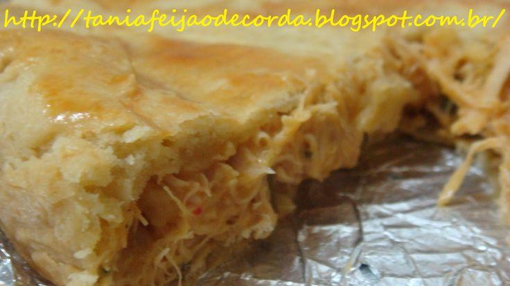 TORTA DE FRANGO - MASSA PODRE http://taniafeijaodecorda.blogspot.com.br/2013/07/torta-de-frango-massa-podre.html