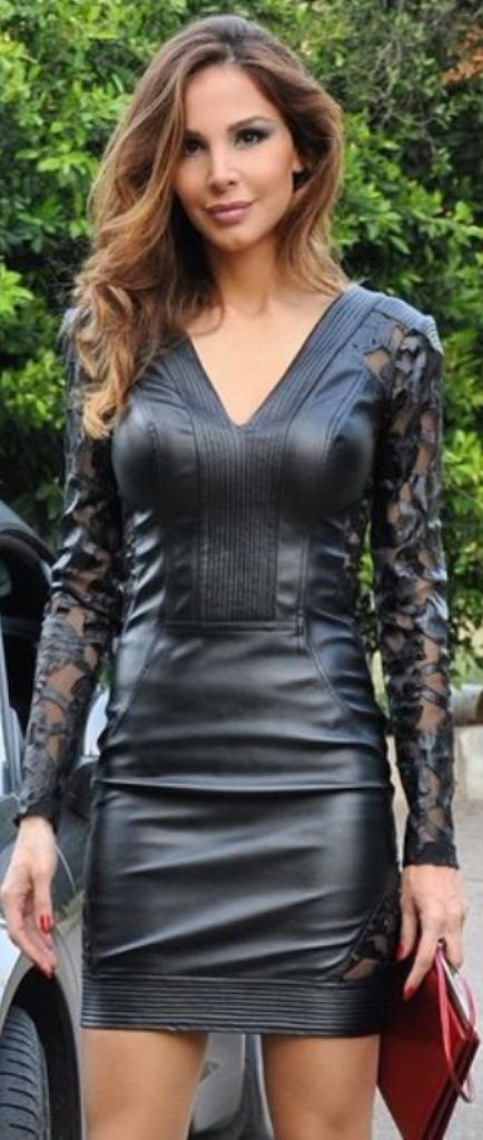 girl latex and Sexy leather