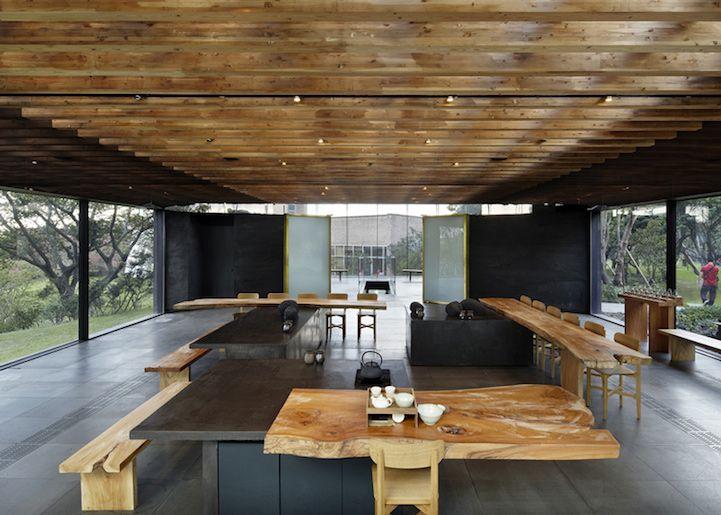 Glass Pavilions Celebrate Korea's Traditional Tea Culture - My Modern Metropolis