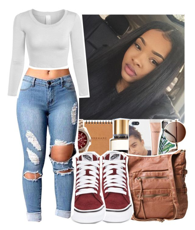 """""""Like to be on my tag list!!!"""" by eniola29 ❤ liked on Polyvore featuring Victoria's Secret, MAC Cosmetics, S'well, Louis Arden and Vans"""