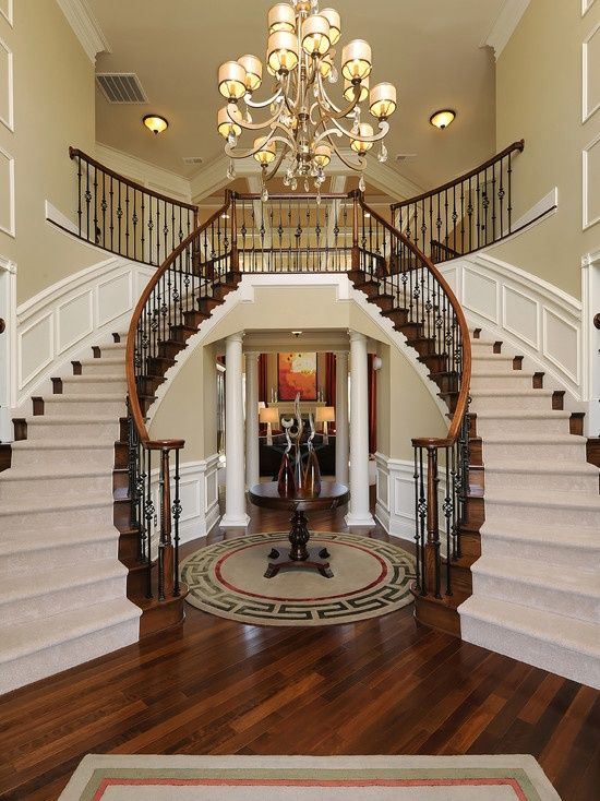 Large Foyer Decorating Ideas 81 best foyer images on pinterest   stairs, homes and architecture