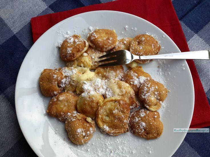Eindeloos varieren met poffertjes, beleg zo veel als je durft. Oja, gewoon ouderwetse warme poffertjes met smeltende boter en poedersuiker kan ook.