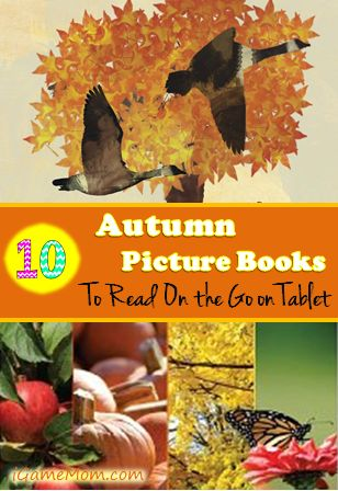 10 Autumn Picture Books to Read on Tablet