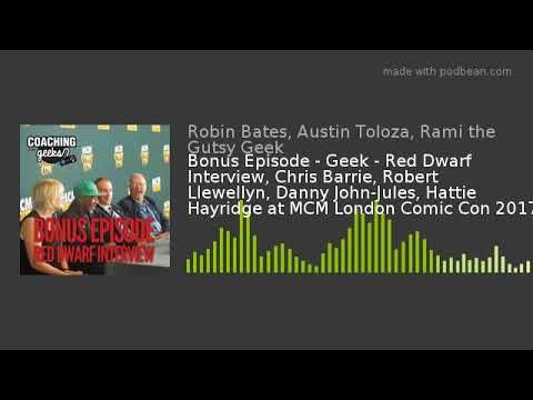 I'd love to hear your thoughts! Red Dwarf Interview, Chris Barrie, Robert Llewellyn, Danny John-Jules, Hattie Hayridge Panel MCM LDN https://youtube.com/watch?v=DypwcAp6QDg