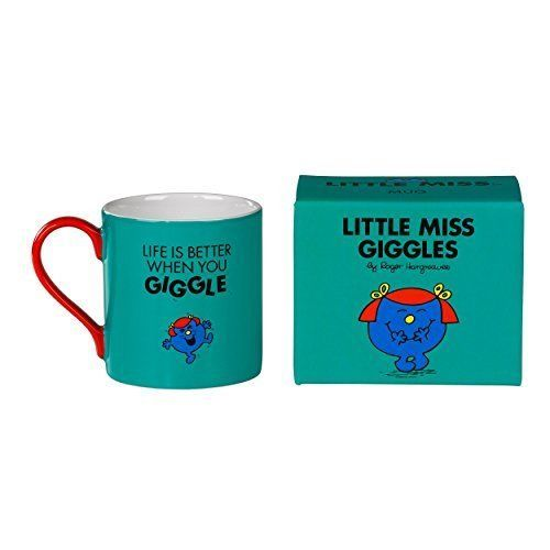 Little Miss Giggles - Full Colour Mr Men And Little Miss Mug #WW