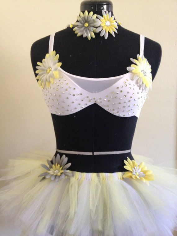 """EDM Halloween Rave costume""""Spring daisy"""",EDC ,Rave outfit on Etsy, $35.00"""