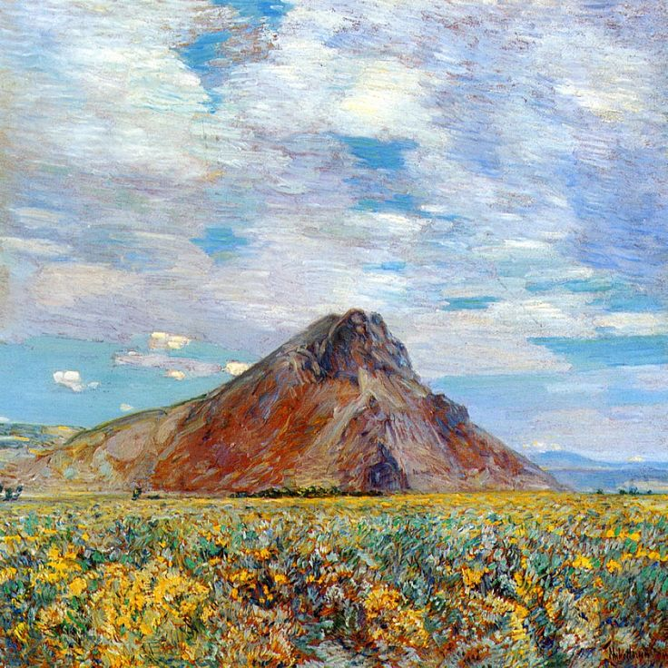 Childe Hassam - Sand Springs Butte, 1904