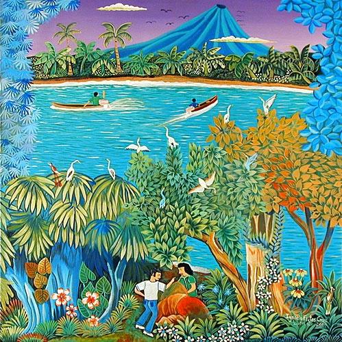 Image detail for -Indigo Arts Gallery | Nicaraguan Art | Fletes Cruz