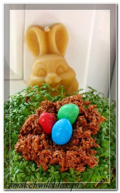 Wielkanocne gniazdka słodkiej przyjemności :)