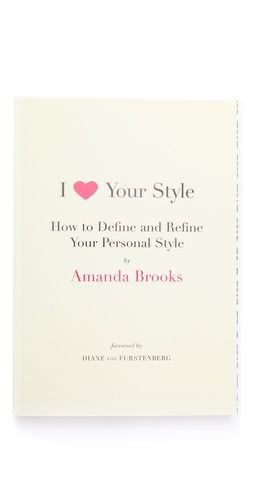 how to define and refine your personal style - on my wish list! $20