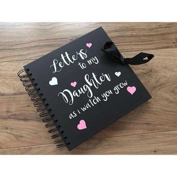 Keepsake book baby keepsake baby shower gift letters to my Bags
