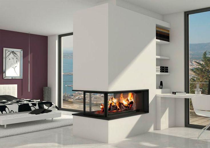 Las 25 mejores ideas sobre chimeneas de gas en pinterest y - Chimeneas modernas ...