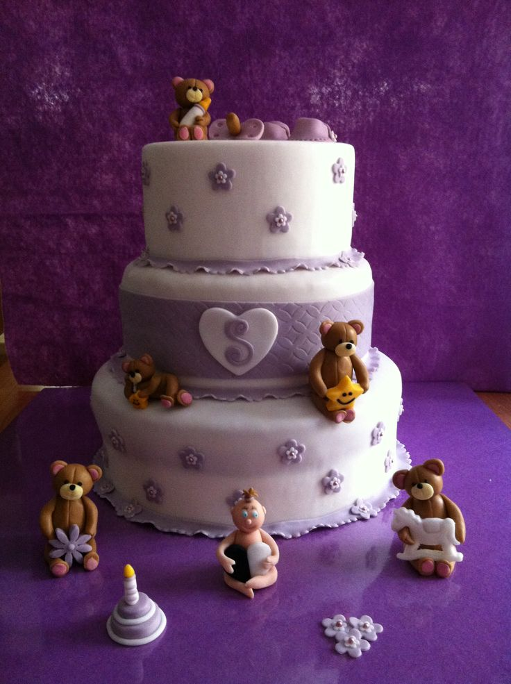 Torta x Battesimo by #chiryscakes