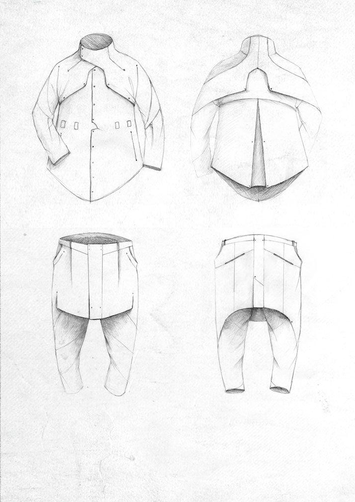 Fashion Sketchbook - fashion design drawings; fashion portfolio // Dainius Bendikas