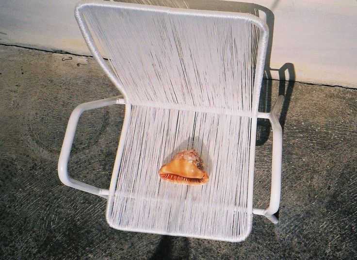 recycled summer chair