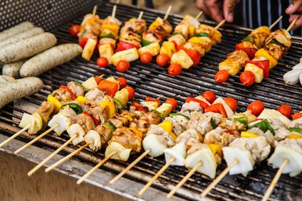 Whether you have Labour Day holiday or not we have came up with some inspirational ideas to spice up your classic BBQ recipes! Even the kids can assist in prepping the food (a.k.a. making a mess) and help to wash up, a great family activity! Greek Lamb Kebabs Instead of the classic chicken or vegetable kebab, add a little ... Read More