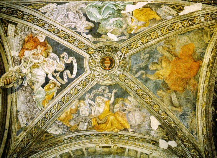 Volta della Cappella Carafa (1488-93; Roma, Santa Maria sopra Minerva, Cappella Carafa)