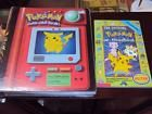 ORIGINAL POKEMON 3 RING BINDER W/9 POCKET PAGES  OFFICIAL ORIG POKEMON HANDBOOK
