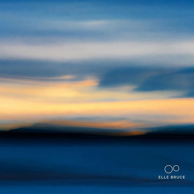 FOUND BEAUTY... in the #northchannel #ontario #canada at #dawn in early September. A bit of #icm #intentionalcameramovement helped to create this bit of #painterly #abstract #landscape #photo #art