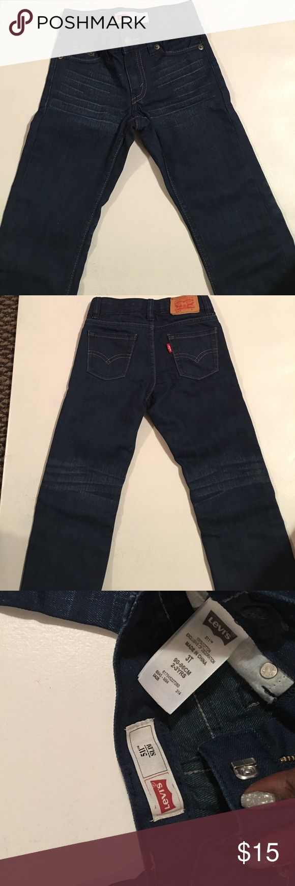 Levi's 511 slim jean. Gray condition Jeans with cool distress. Great condition Levi's Bottoms Jeans