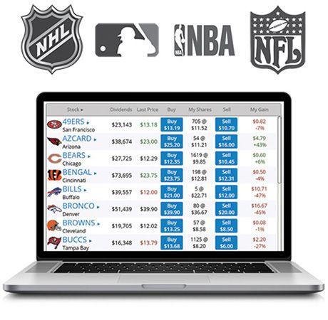 Trade sports team like stocks