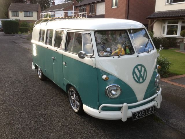 17 best images about splitscreen exterior on pinterest for 18 window vw bus