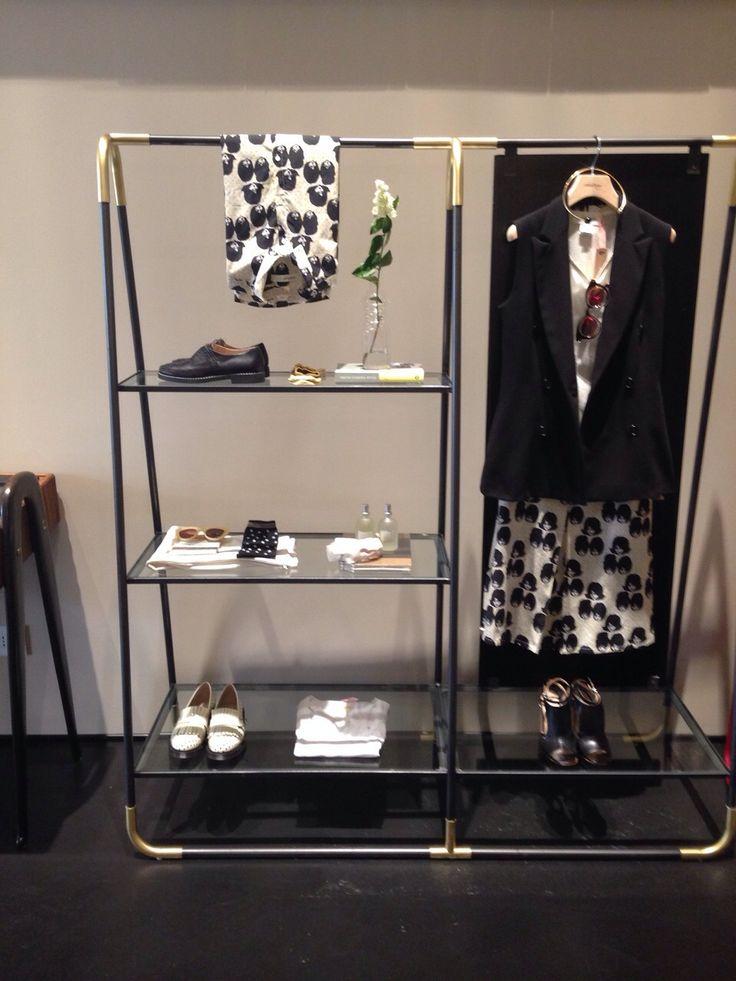 ottod'Ame store Milano #ottodame #ss15 #design #interiordesign #boutique #fashionstore
