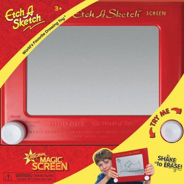 Etch a Sketch - Classic Red