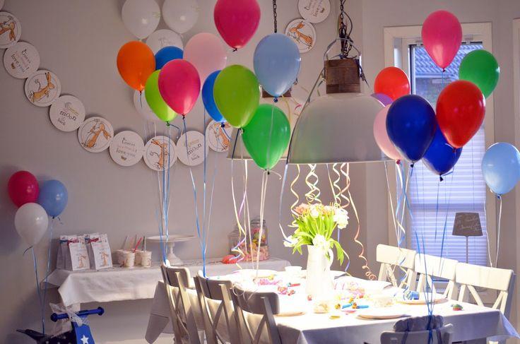 Konfetti Party Kindergeburtstag Mottoparty Weißt Du eigentlich wie lieb ich Dich hab? Ideen