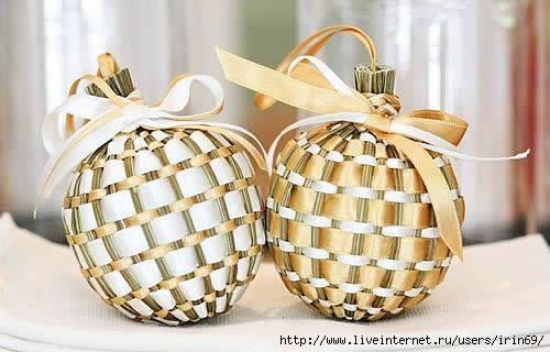Christmas ornament lavender balls