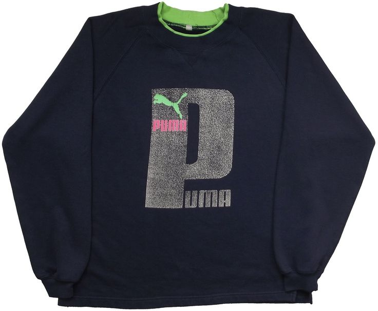 Image of Vintage Puma Sweatshirt Size Medium