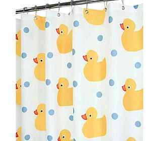 Watershed 2-in-1 Ducky Time 72x72 Shower Curtain