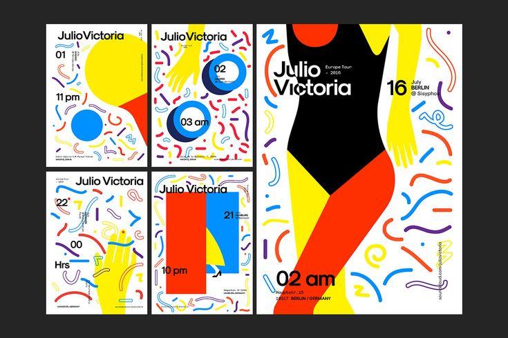 - Julio Victoria Euro Tour Flyers on Behance
