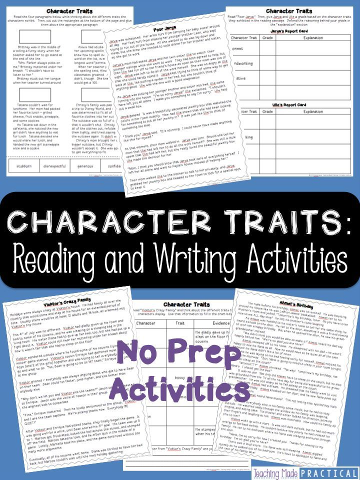 Books for Trait-Based Writing Instruction