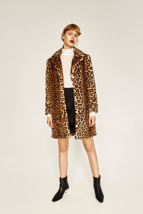 A Trendy Coat - Outerwear is expensive, which is why Zara is a hub for the latest styles at an affordable price.Faux-Fur Leopard Coat, $169