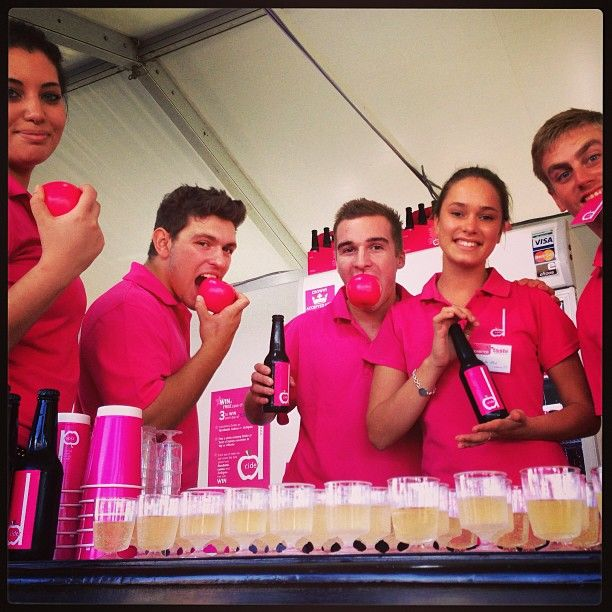 Our friendly crew at @Taste of Sydney   #Cider