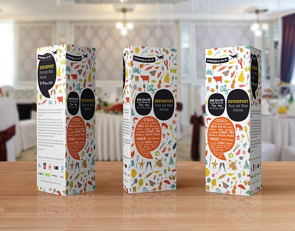 Paper tri fold table tent mock up template vol 6 by for Tri fold tent card template