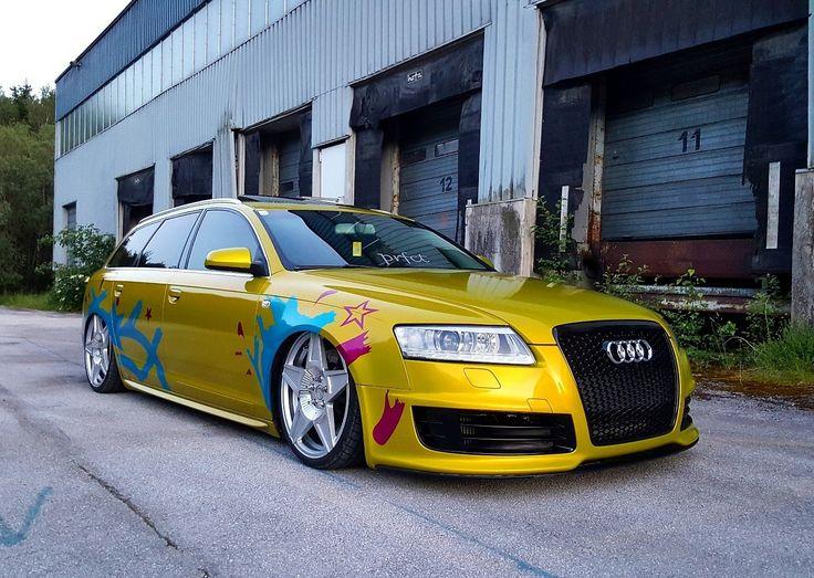 """Audi A6 4f auf Rad48 GTR Felgen 20"""" Wheels Carwrapping Tuningcar Airride TTRS Brakes RS6 Style"""