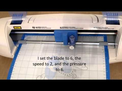 ▶ Sizzix Eclips - Reusable Stencils with Grafix .007 Plastic - YouTube