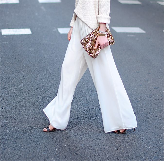 wide leg trousers!! zina fashionvibe, mango shoes