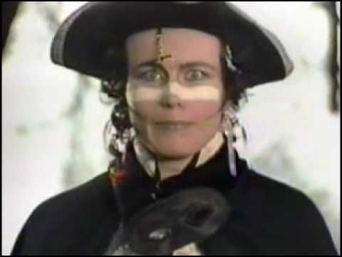 Adam Ant - Stand And Deliver......A post punk band, starting the new wave of music in the 80's. They started the use of the 'Burundi beat'; a speeded-up version of the 'talking drums' of the African tribe called The Burundi.