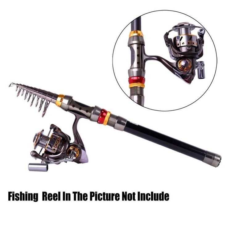 Best-price-Fishing Rods-ZANLURE TSR-01 Telescopic Fishing Rod Carbon Spinning Sea Fishing Pole Hand Fishing Tackle Sea Rod-Buy-on-Wallmart.win