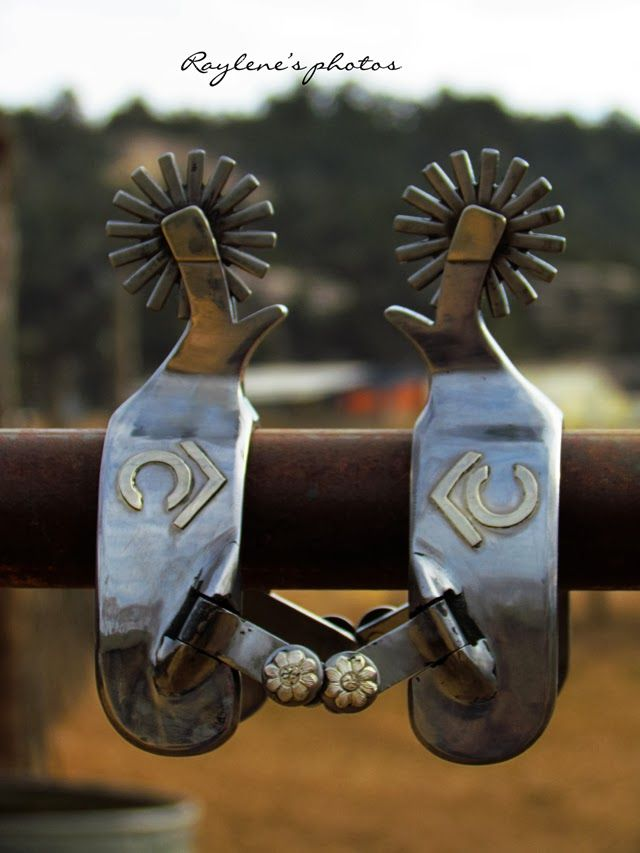 Lane Parry Custom Cowboy Spurs (Blanchard Style Spur Maker) - Click image to visit his website.