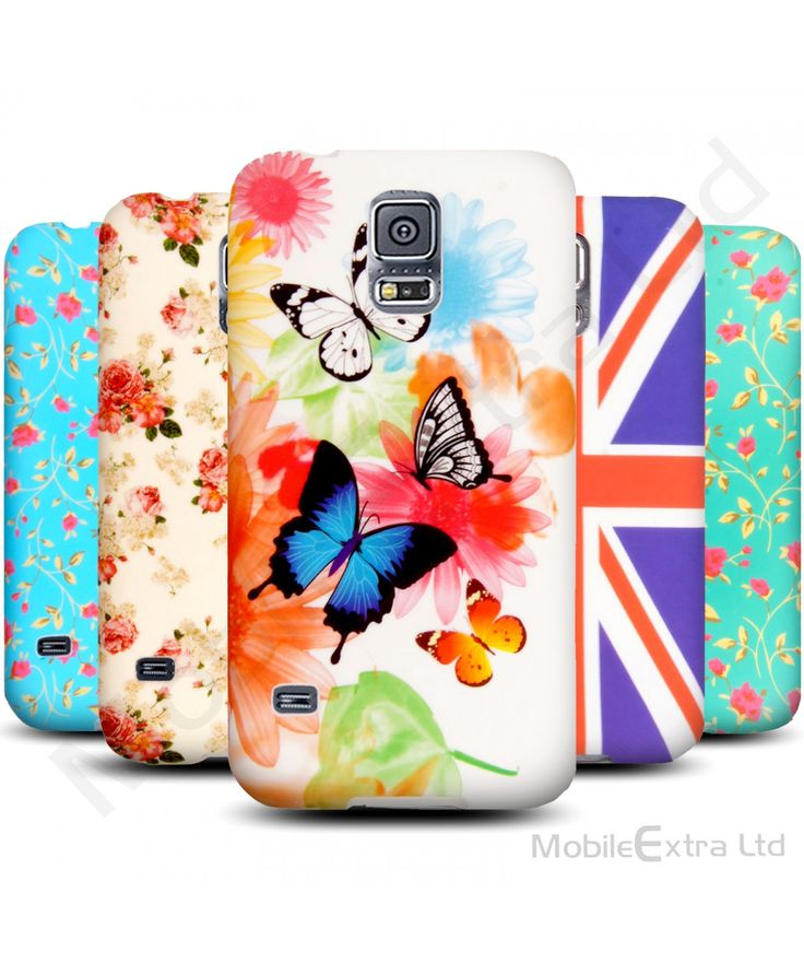 New Soft Skin Back Fits Printed Silicone Gel Protective Case Cover For Samsung Galaxy S5 / S5 Neo 66245339872583