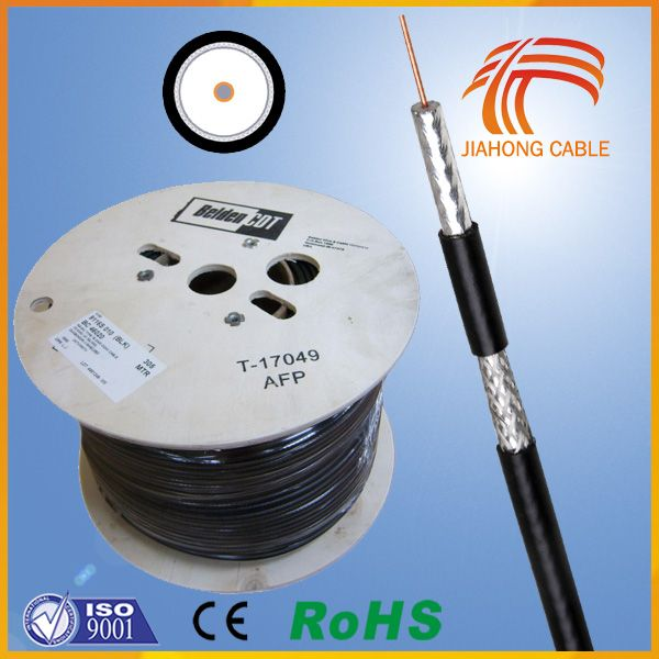 16 Years Aston Made In ChinaTV cable RG6 F BNC Connector Connect TO TV Box