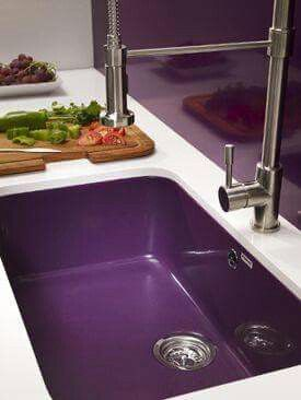 Love the Dark Purple Sink