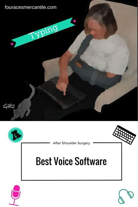 Typing after shoulder but you know where did you fireworks go can be difficult - here's some voice software that may help Four Aces Mercantile